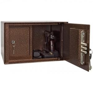 Пистолетные шкафы и сейфы