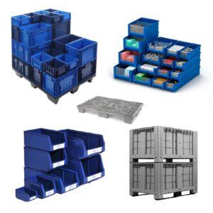 Пластиковая тара и ящики для хранения